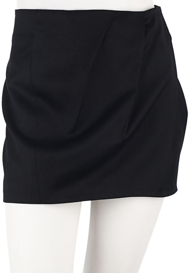 Yeojin Bae Pleated Mini Skirt - Black