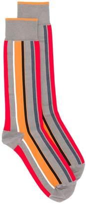 Bottega Veneta multi-stripe patterned socks