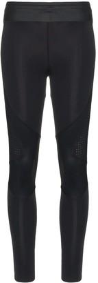 Charli Cohen laser-cut stretch leggings