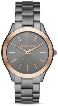 118b320a18bb Michael Kors Gray Men s Watches - ShopStyle