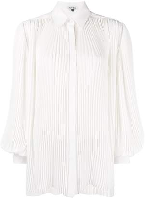 Krizia pleated shirt
