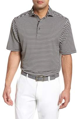 Bobby Jones XH2O Feed Stripe Stretch Golf Polo