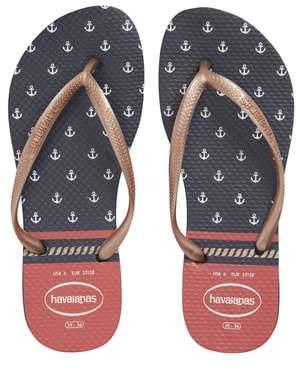 Havaianas Slim Nautical Flip Flop
