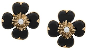 Goossens flower earrings