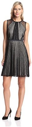 Julia Jordan Women's Lace Fit-and-Flare Dress $37.79 thestylecure.com