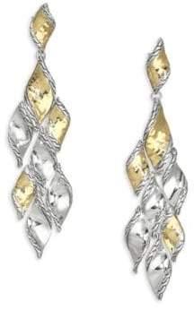 John Hardy Classic Chain Hammered Chandelier Earrings