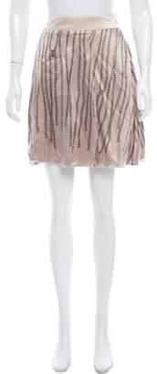 Viktor & Rolf Printed Silk Skirt