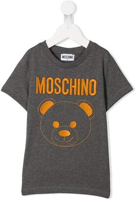 Moschino Kids Teddy bear printed T-shirt