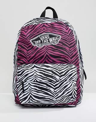Vans Mixed Animal Print Backpack