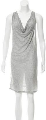 Alexander Wang Sleeveless Ribbed T-Shirt Dress