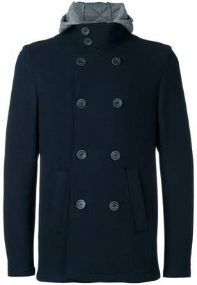 Herno double-breasted pea coat