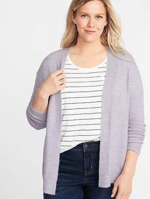 Old Navy Plush-Knit Open-Front Plus-Size Sweater