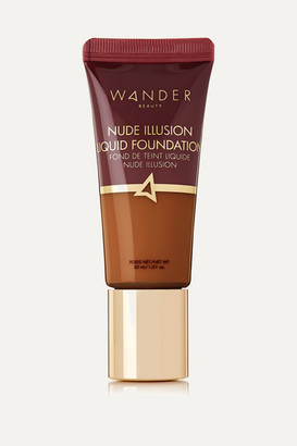 Wander Beauty - Nude Illusion Liquid Foundation - Golden Rich