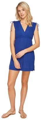 Lauren Ralph Lauren Crushed Farrah Dress Cover-Up Women's Swimwear