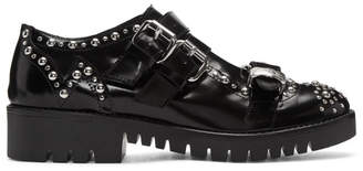 McQ Black Studded Ellis Brogues