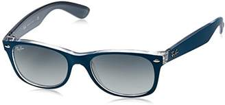 Ray-Ban NEW WAYFARER - Frame LIGHT GREY GRADIENT DARK GREY Lenses 52mm Non-Polarized