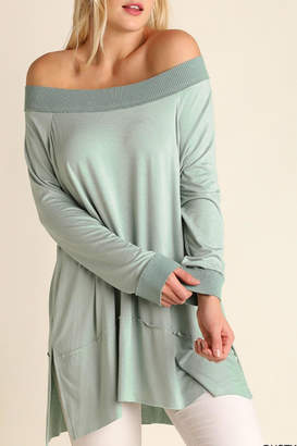 Umgee USA Off the Shoulder Classy Top