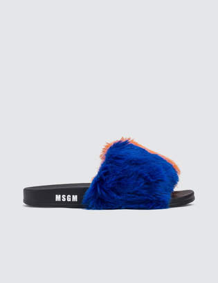 MSGM Stripe Pool Slide