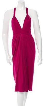 Temperley London Silk Sleeveless Dress