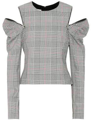 Monse Glen plaid top