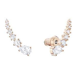 f2bdd7b2e Swarovski Women Stainless Steel Ear Cuff Earrings 5486352