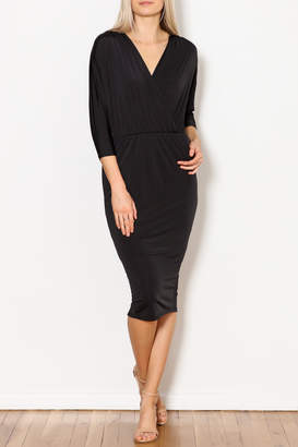 Blooms in The City Olivia 3/4 Sleeve Fitted Cocktail Dress
