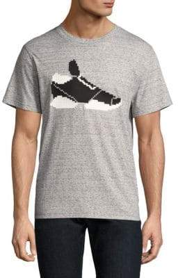 Mostly Heard Rarely Seen Simons 8-Bit Heather Tee
