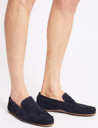 Marks and Spencer Suede Slip-on Driving Shoes