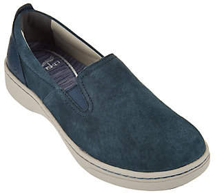 Dansko Suede Twin Gore Slip-on Sneakers -Belle Suede