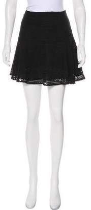 Joie Eyelet Mini Skirt