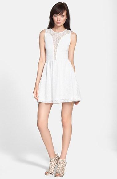 Lulu For Love & Lemons 'Lulu' Paisley Lace Dress