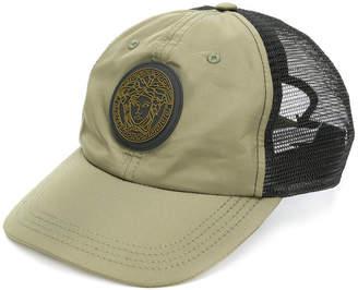 Versace Medusa patch baseball cap
