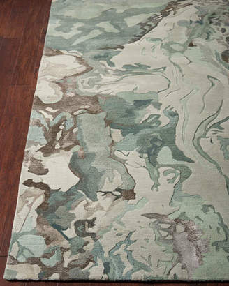 """Of A Kind Kathleen Marie New York Julia Hand-Tufted One Rug, 7'9"""" x 9'9"""""""