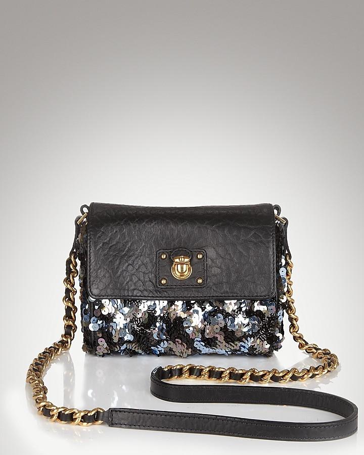 Marc Jacobs Debbie Sequined Mini Bag