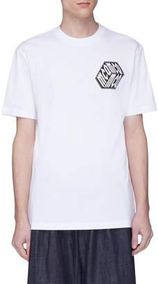 McQ Mix logo print T-shirt