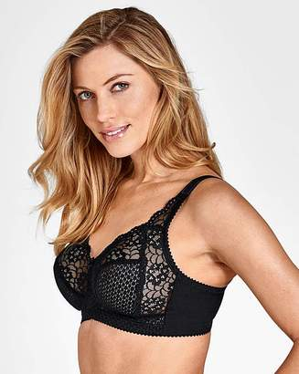 eb3d37659eb5d Miss Mary Of Sweden Miss Mary Black Cotton Non Wired Bra