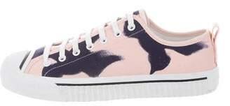 Burberry Printed Low-Top Sneakers