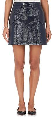 Lisa Perry WOMEN'S COTTON-BLEND MINISKIRT