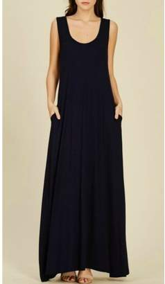 fd18077089 Basic Black Maxi Dress - ShopStyle Canada