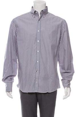 Michael Bastian Striped Button-Up Shirt w/ Tags