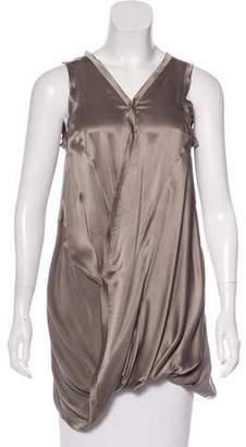 Alisha Levine Silk Sleeveless Blouse