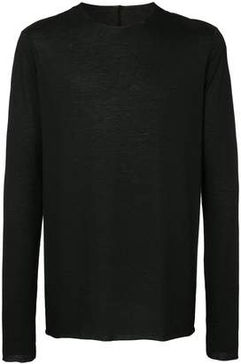Zambesi raw hem long sleeve T-shirt