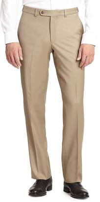 Jack Victor Men's COLLECTION Wool Dress Pants