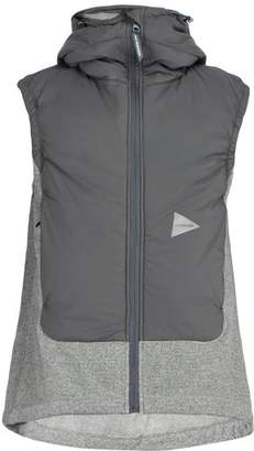 And Wander - Hooded Fleece Gilet - Mens - Dark Grey