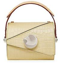 Danse Lente Women's Extra-Small Jorja Croc-Embossed Leather Barrel Bag