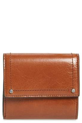 Treasure & Bond Tracy Leather Trifold Wallet