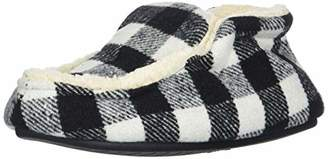 Dearfoams Boy's Plaid Boot Slipper