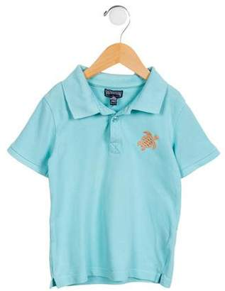 Vilebrequin Kids Boys' Knit Polo Shirt