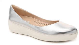 FitFlop Super Ballerina Leather Ballet Flat - Women's