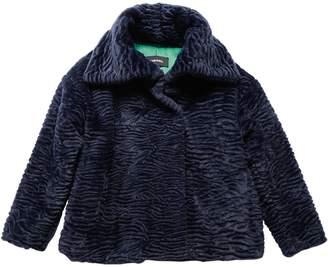 Diesel Faux Astrakhan Fur Jacket